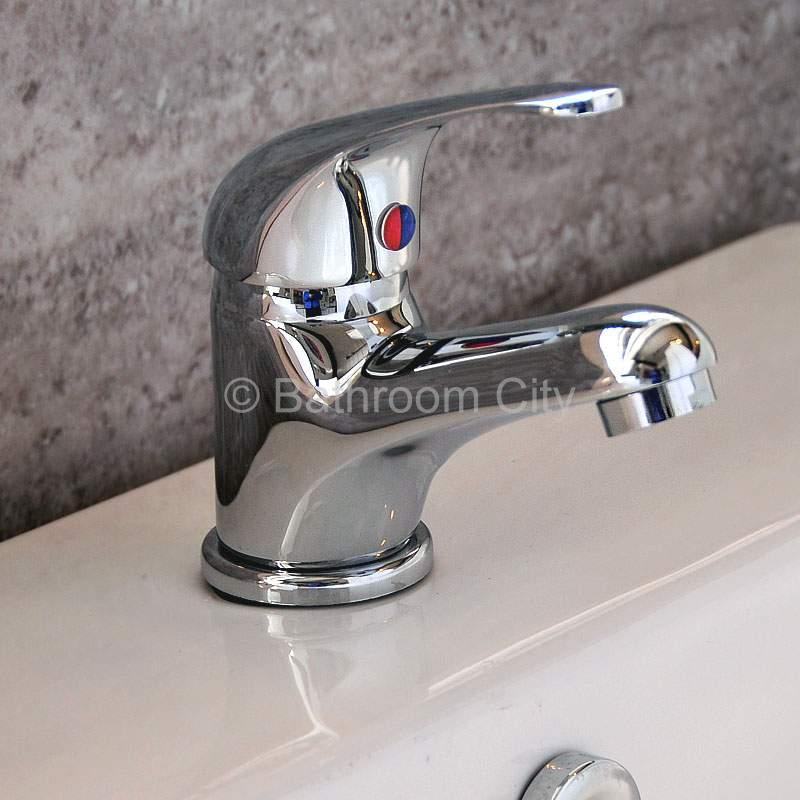 Poma Basin Mono Tap with Popup Waste - 24-080/1