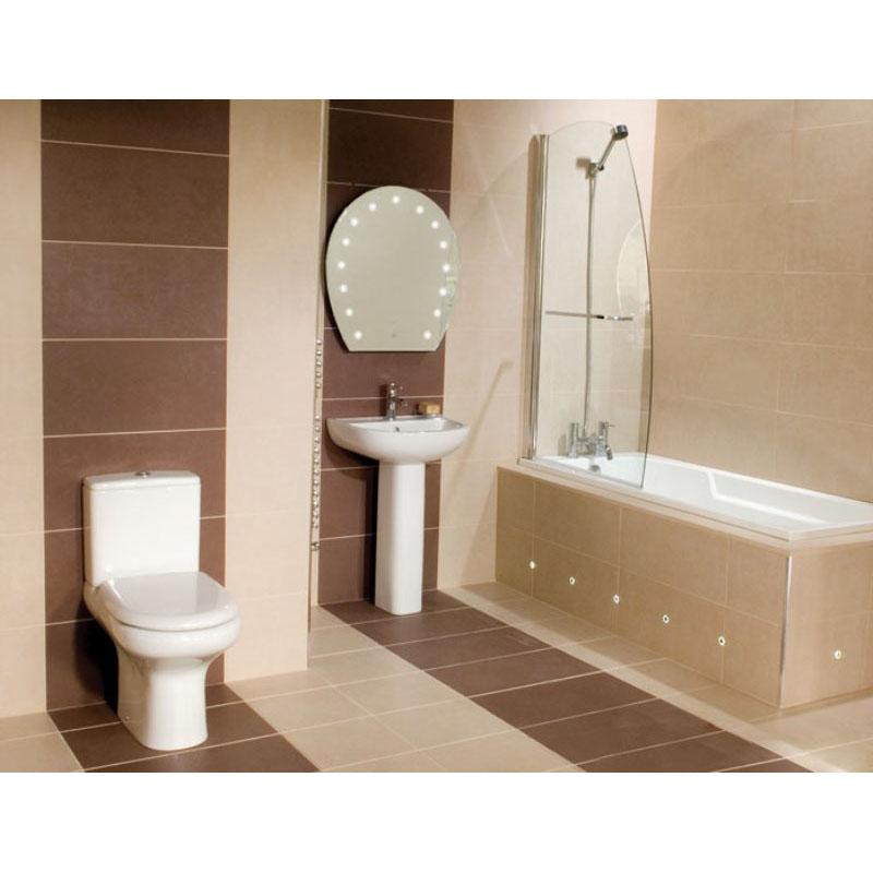 Compact Deluxe 4 Piece Bathroom Suite Buy Online At Bathroom City