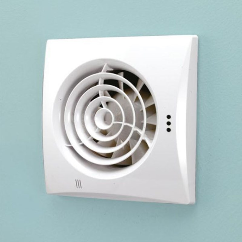 Hush White Timmer Bathroom Extractor Fan Buy Online At