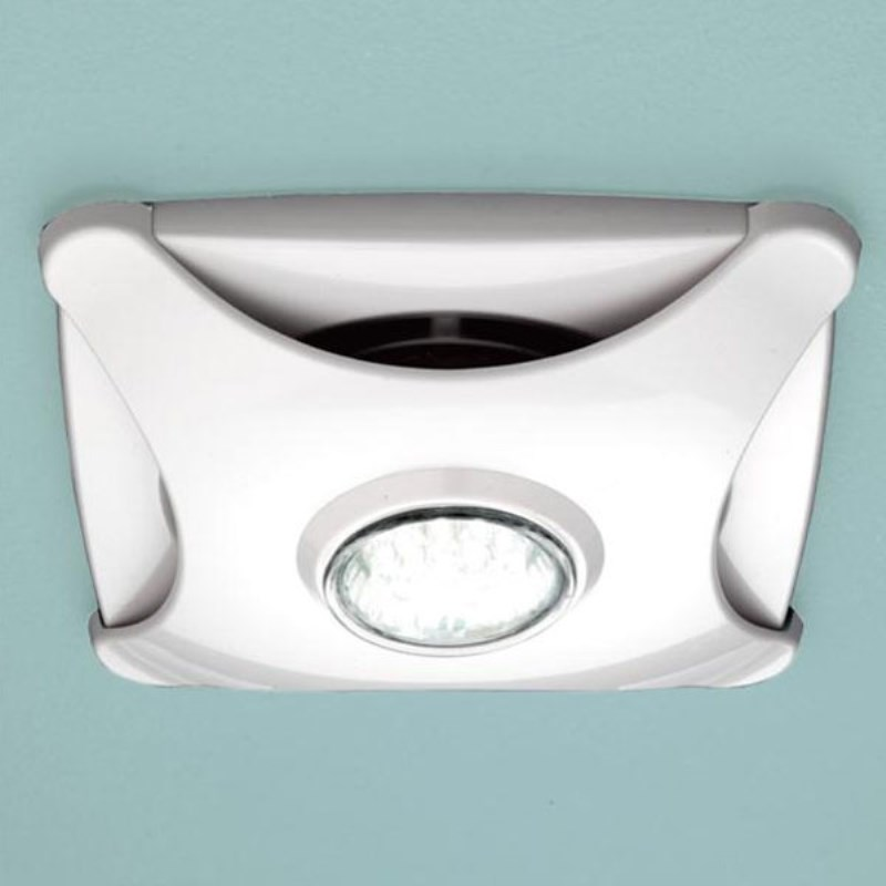 Air Star Ceiling Extractor Fan White With Led Light Buy