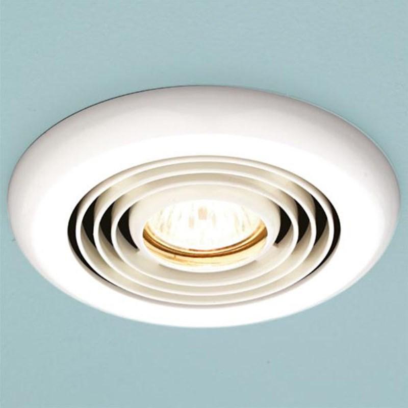 Turbo Bathroom Inline Extractor Fan White Ellegant