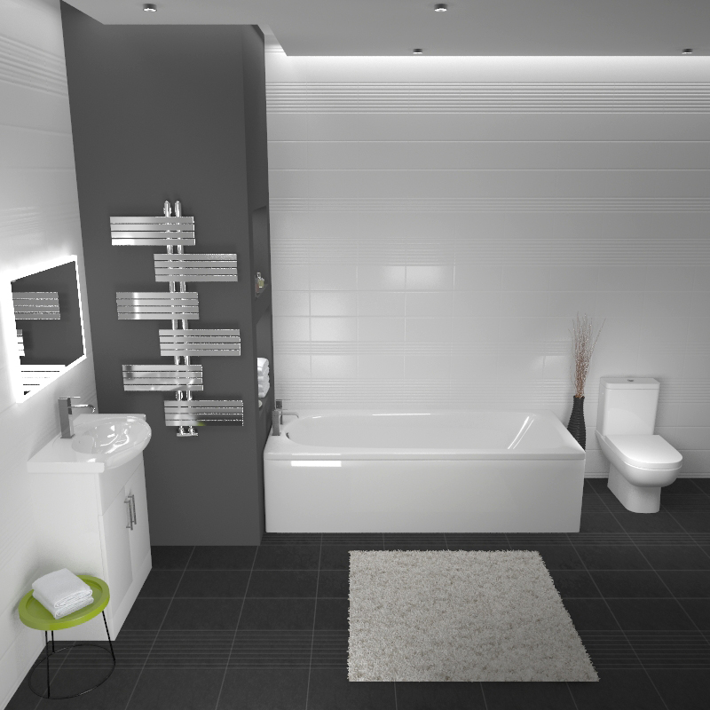 Mercury 1600 ecco suite buy online at bathroom city for 1600 bath suite