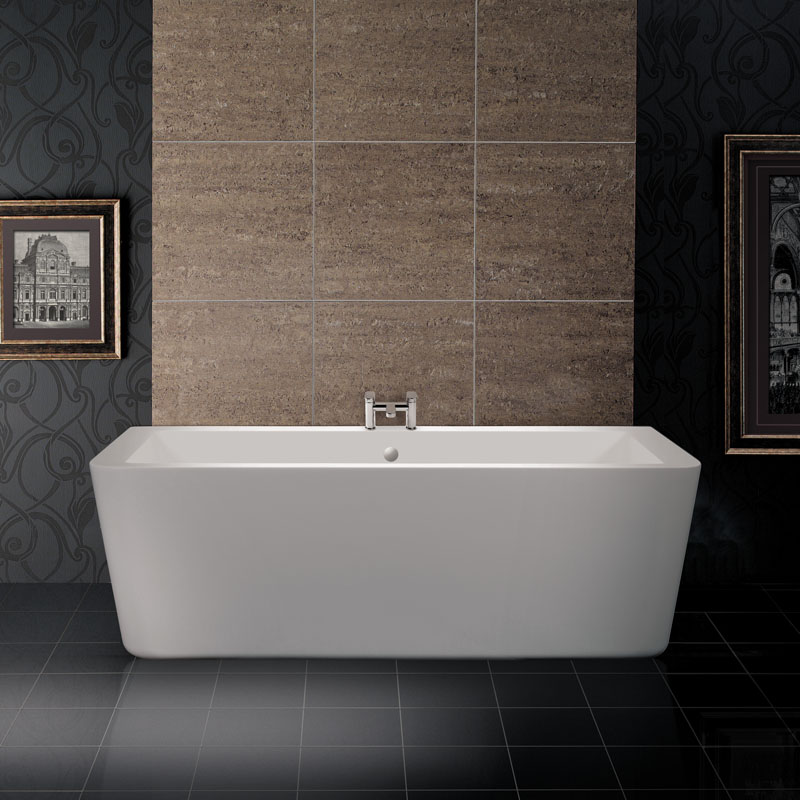 Durata Wall Mounted Bath 1830 X 920 X 610 Buy Online at Bathroom City
