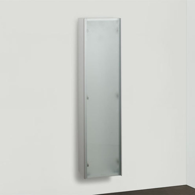 easy tall cabinet 124x30x20 frosted glass bathroom city