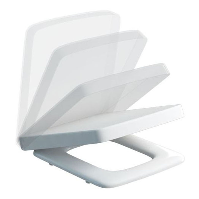 square toilet seat uk. Cube Carbamide Soft Close Seat Toilet High Quality Bathroom Accessory Buy Online At City