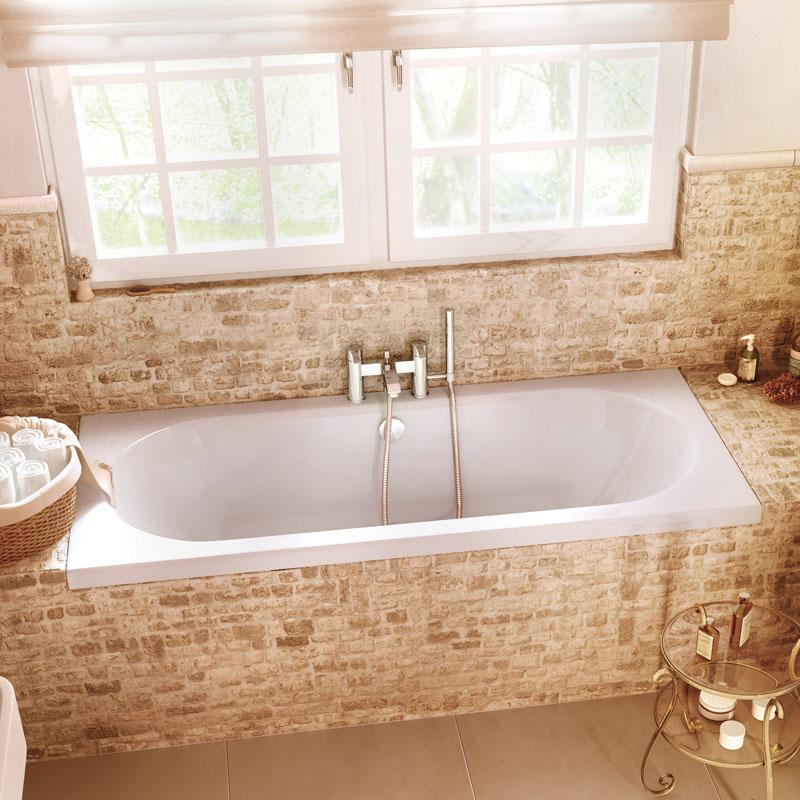 Verde Double Ended Bath Buy Online At Bathroom City