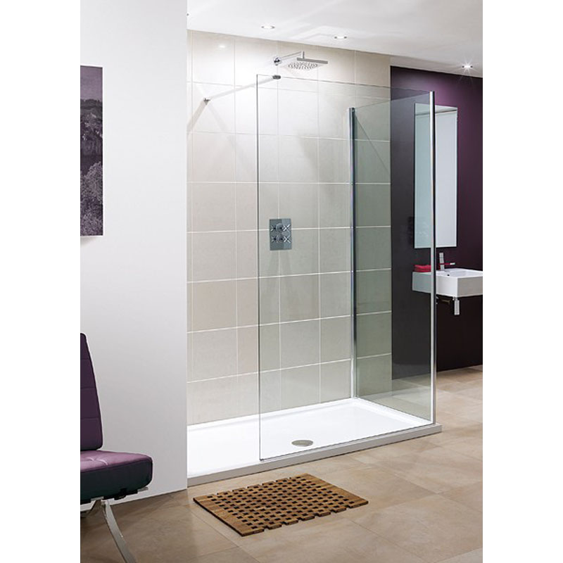 Marseilles Walk In Glass Shower Panels Buy Online At Bathroom City - Glass floor panels for sale