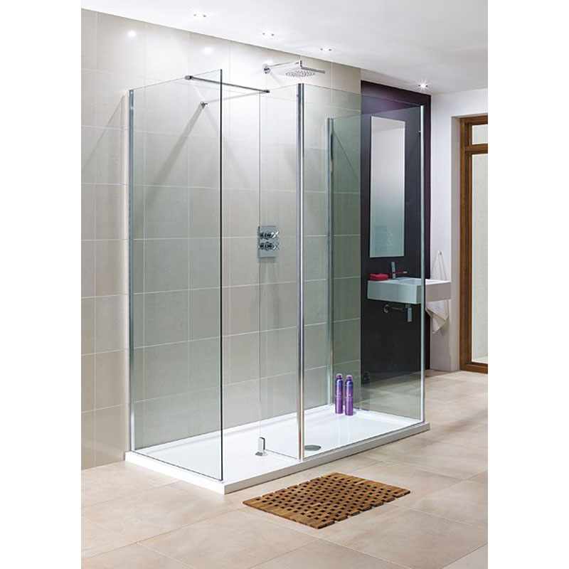 Rhodes Walk In Glass Shower Panels Buy Online At Bathroom City - Glass floor panels for sale