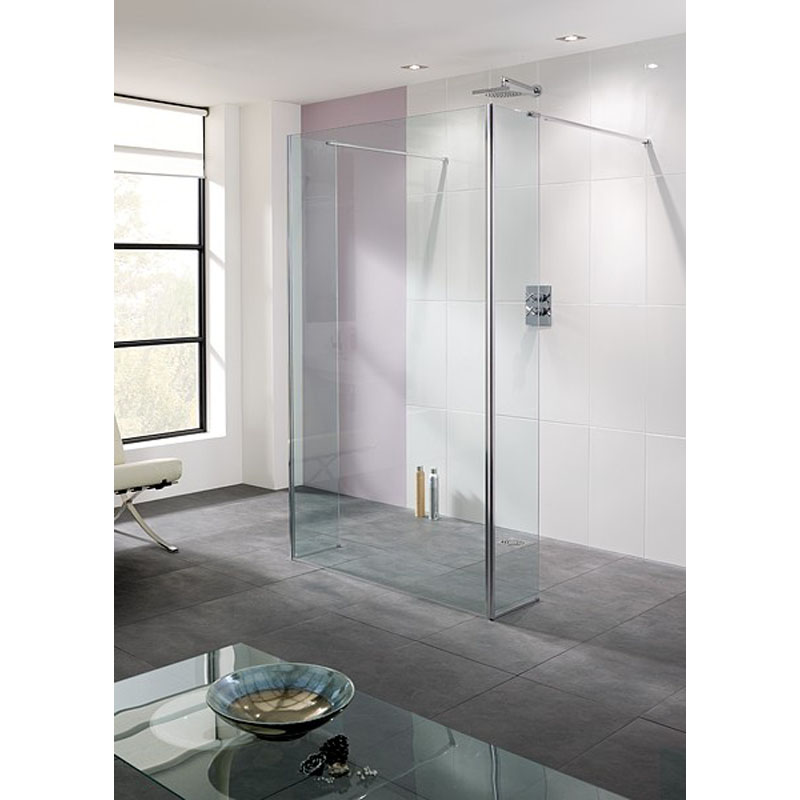 Bathroom City : Rivera Walk In Glass Shower Panels Buy Online at Bathroom City