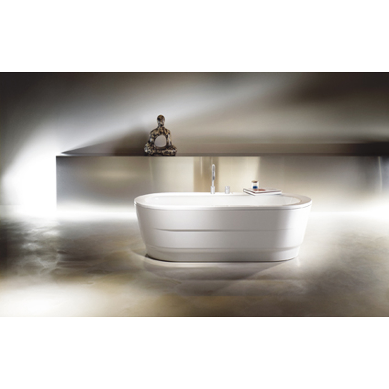 Classic duo oval wide steel bath buy online at bathroom city for How wide is a bathtub