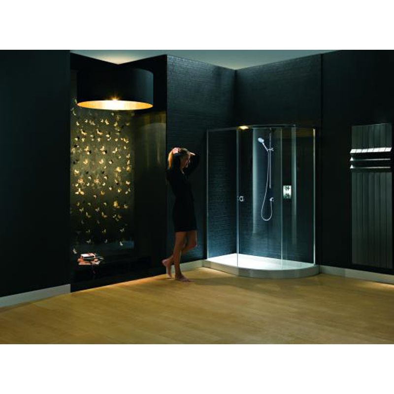 Matki 1480 radiance offset bathroom shower quadrant for Bathroom design quad cities