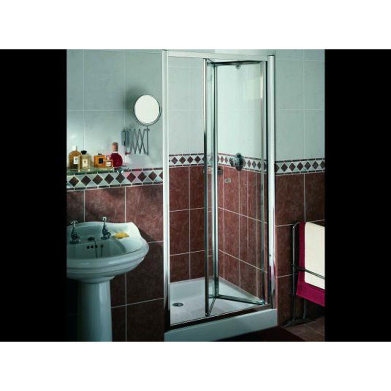 Bifold shower door rc7500 silver radiance matki buy online for 1800mm high shower door