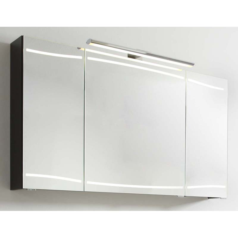 Cassca 1200 x 700 mirror cabinet inc light buy online at for Bathroom cabinet 700