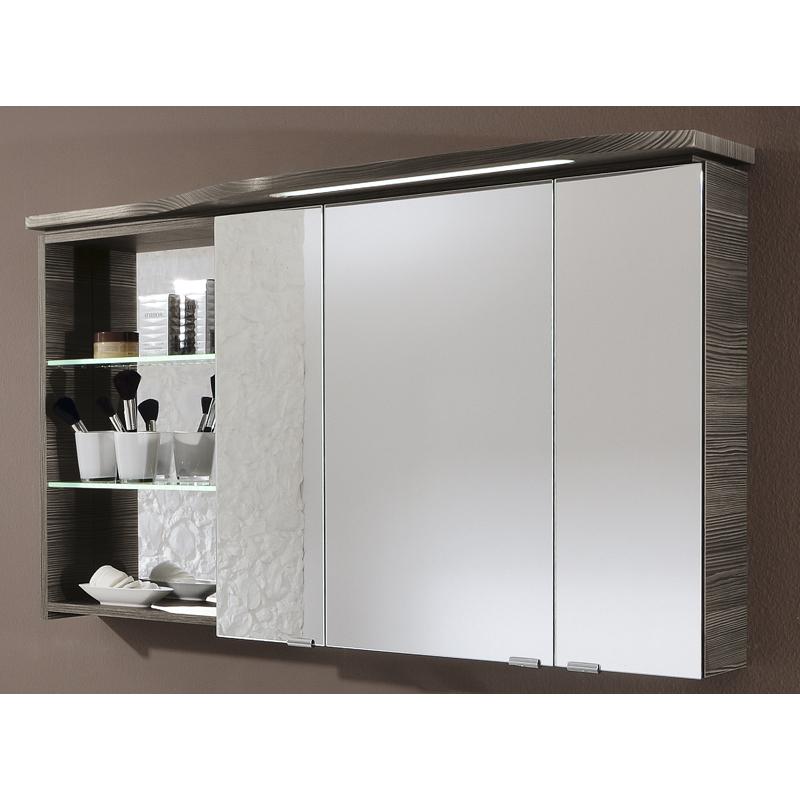 mirror cabinet 3 door 6 shelved right handed buy online at bathroom