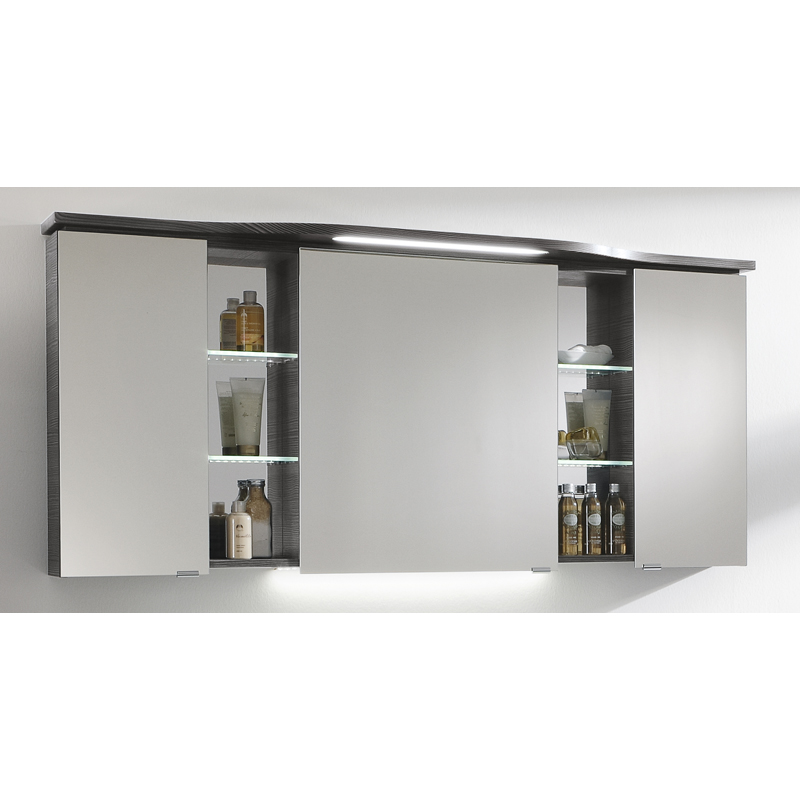 Http Www Bathroomcity Co Uk Product 730 X 1580 Conte Mirror Cabinet 3 Doors 6 Shelves