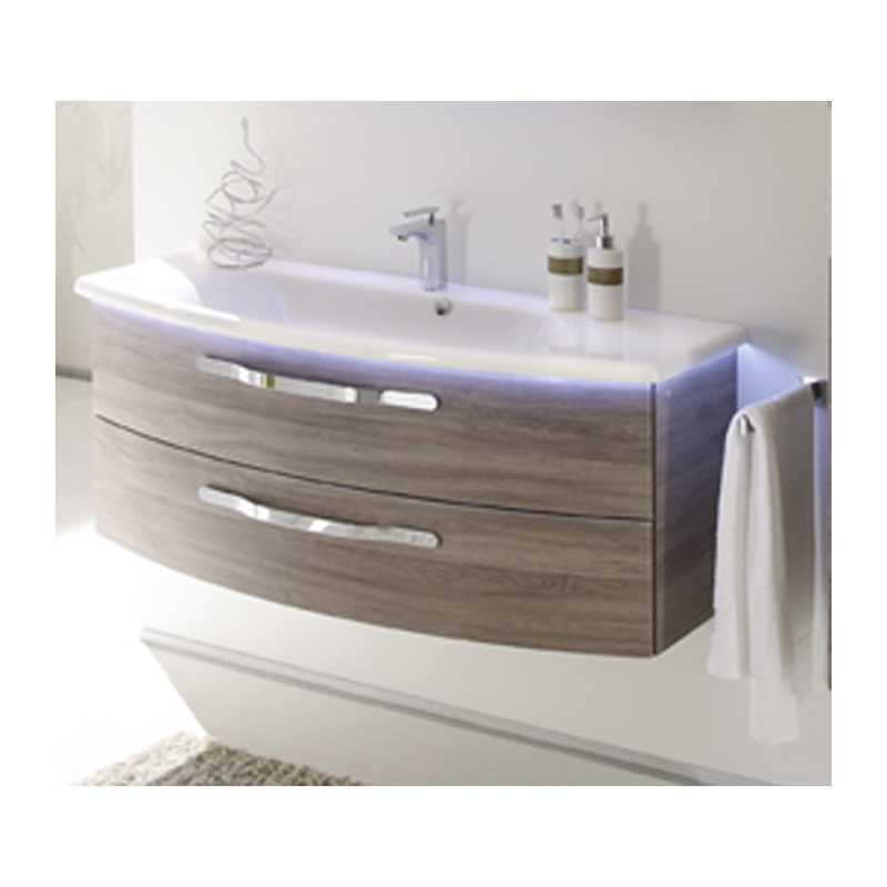 Vanity Unit Lights : Solitaire 7005 1236x480 Vanity Unit And Basin With Led Light 2 Draw Bathroom City