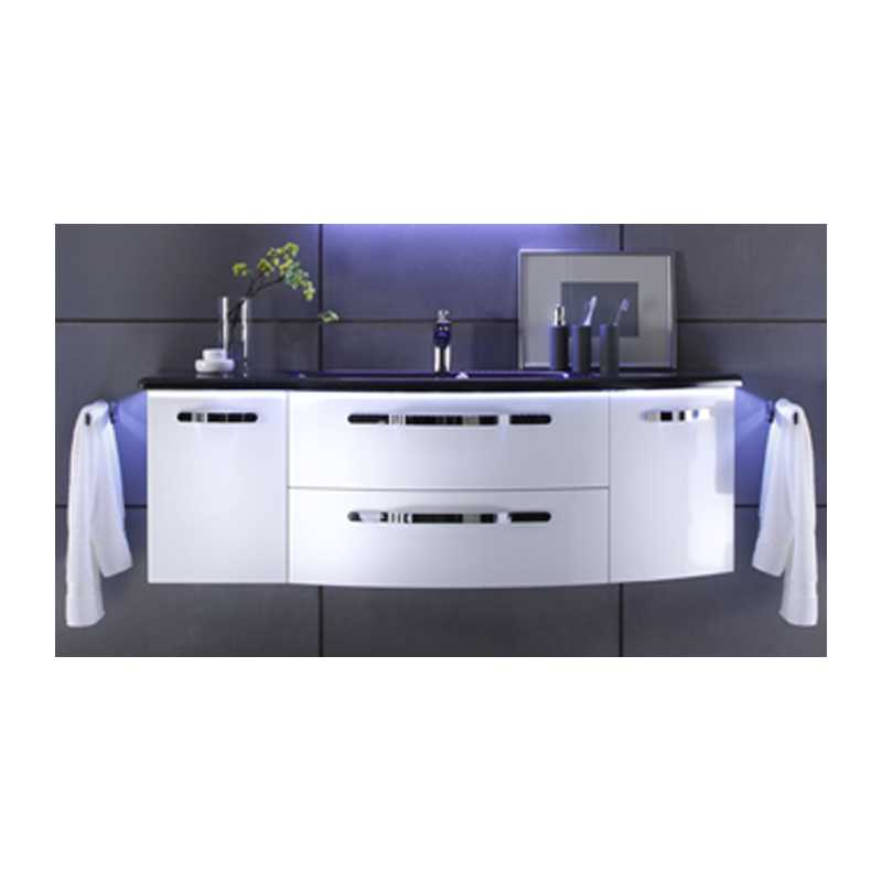 Vanity Unit Lights : SolitAire 7005 1548x480 Vanity Unit And Basin With Led Light 2 Draw 2 Door (right) Buy Online ...