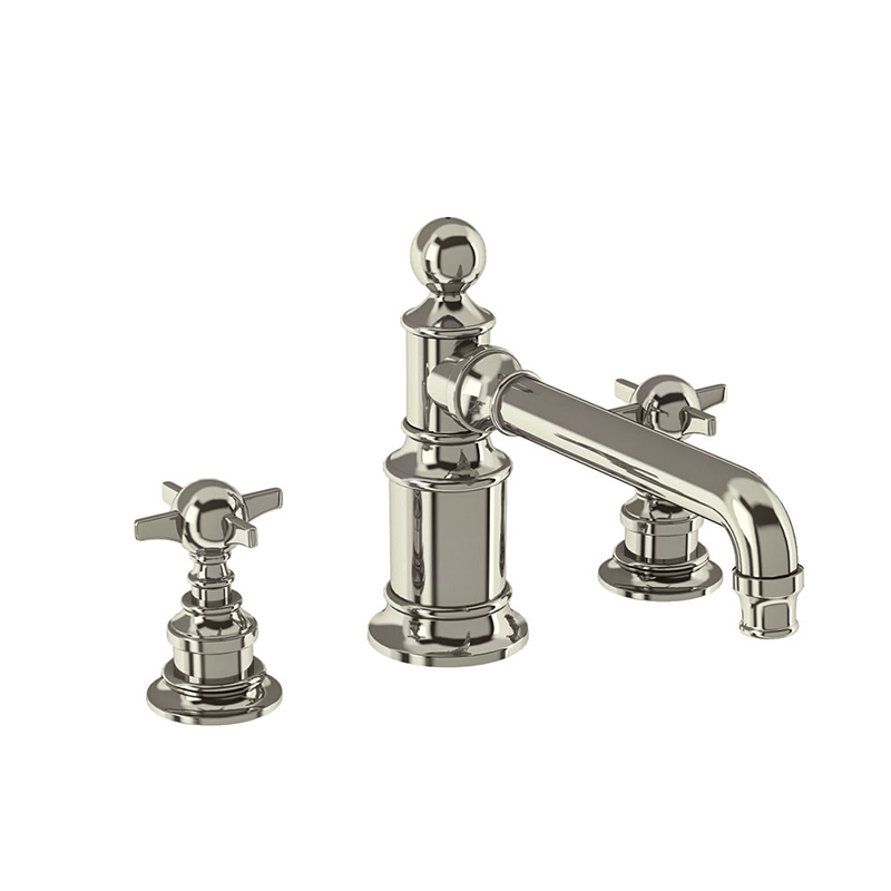 Arcade 3 Hole Basin Mixer Taps Deck-Mounted Buy Online at Bathroom City