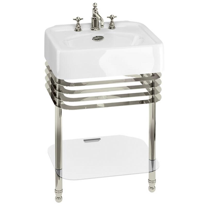 Arcade 600Mm Basin & Basin Stand Buy Online At Bathroom City