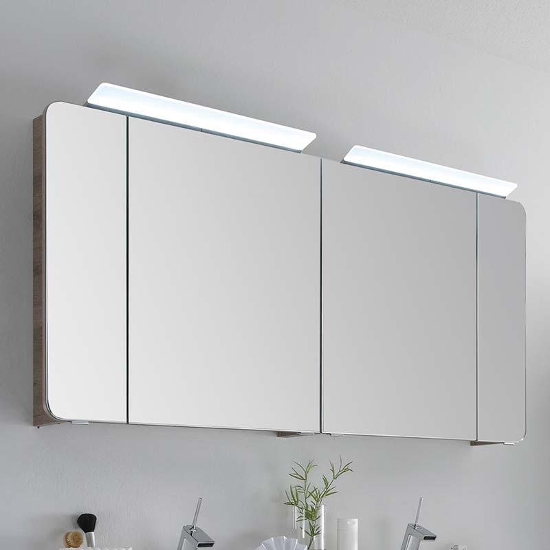 Balto 1500mm Medicine Mirror Cabinet 4, Bathroom Mirrored Cabinets