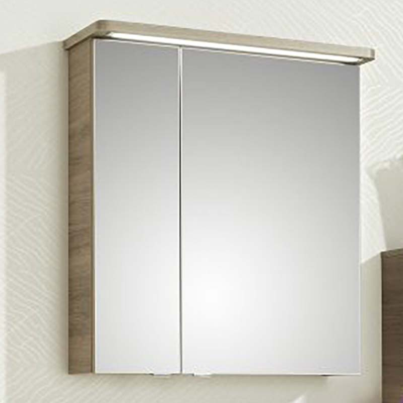 Balto Bathroom Mirror Medicine Cabinet 2 Doors Including Shaver Socket