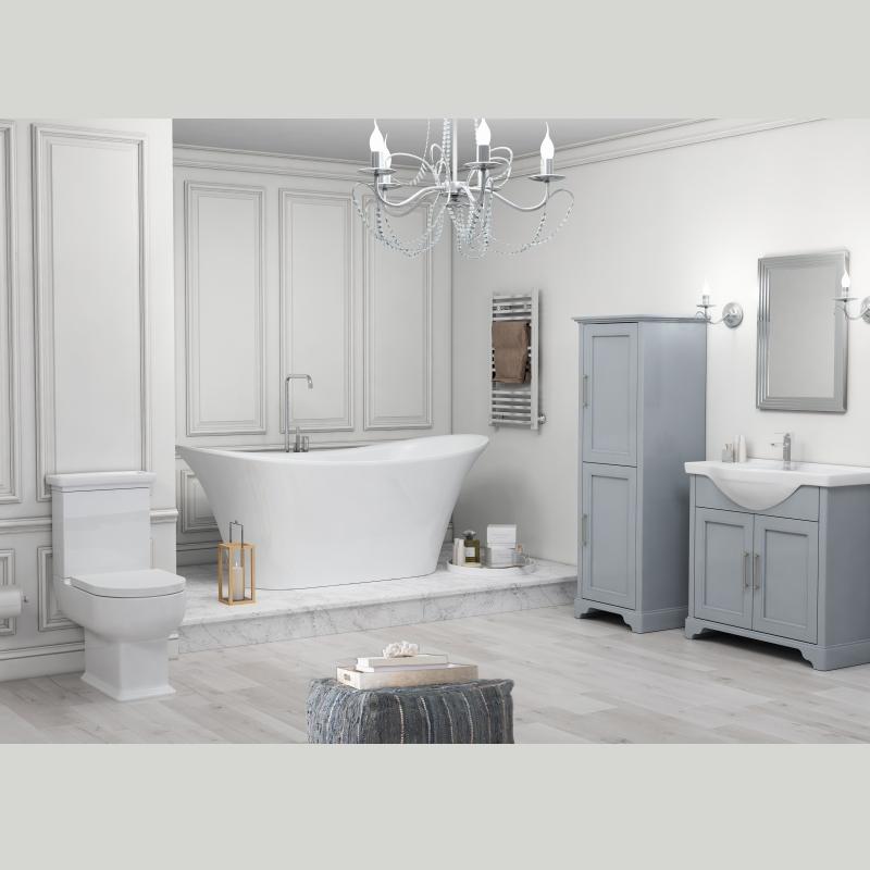 Swell Old England 65 Bath Suite Dove Grey Download Free Architecture Designs Momecebritishbridgeorg
