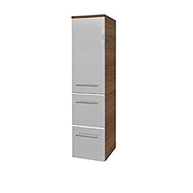 Tall Bathroom Cabinet With Drawers: Solitaire 6900 Tall Bathroom Storage Cabinet 1 Door 2