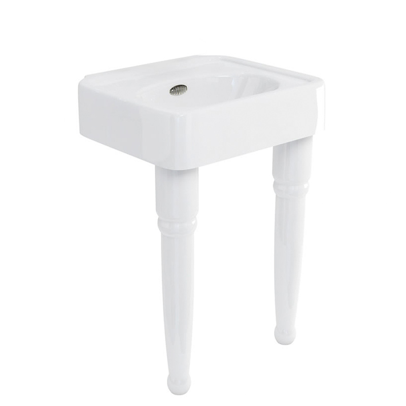 Arcade 600 basin no tap hole and console legs