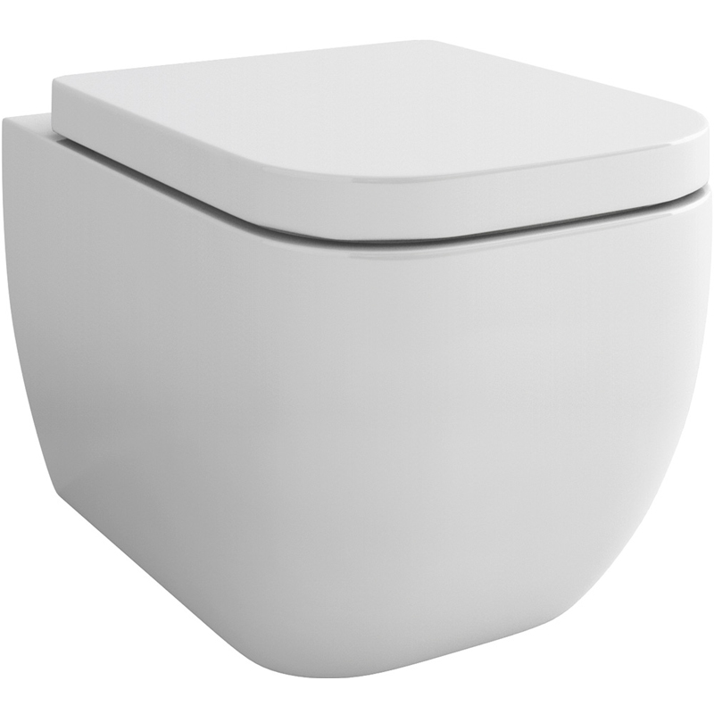 Essence Wall Hung Wc Bowl with Fixings and SC seat