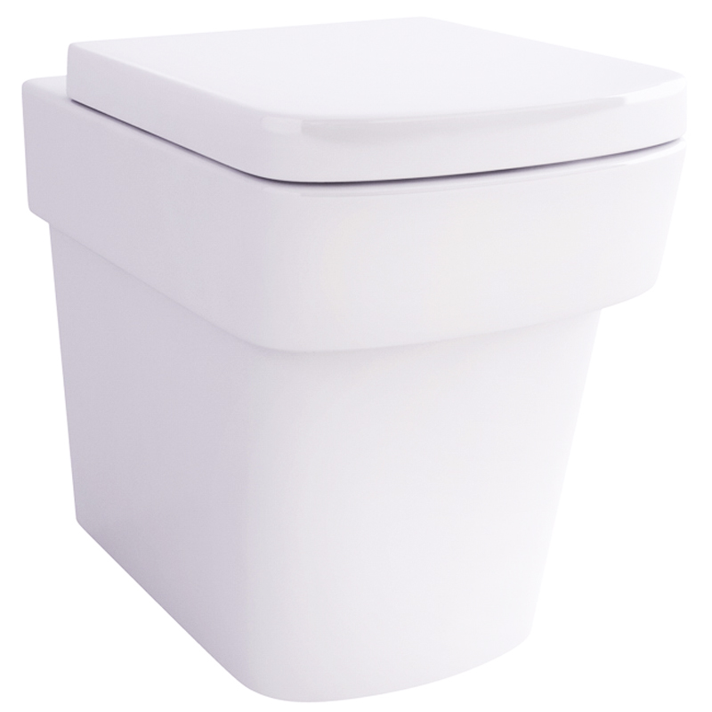 Bloque Wall Hung Wc with Fixings and SC seat