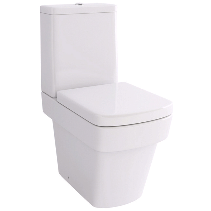 Bloque Str8 Close Coupled Wc With Fixings And Soft Close