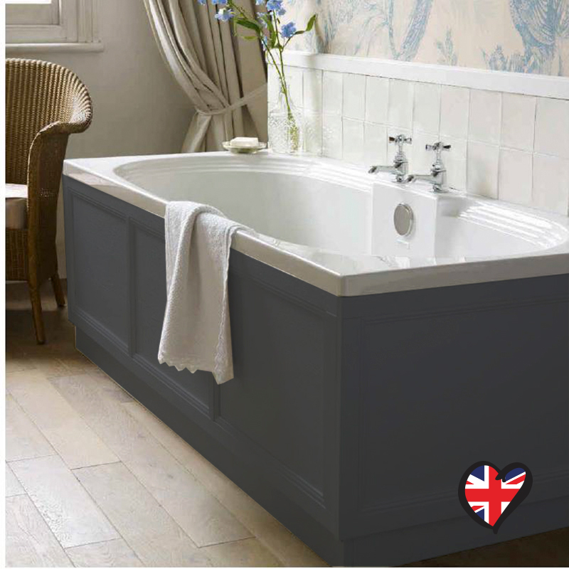 INSOLITO CAROLLA 700 BATH PANEL (CHARCOLE GREY graphite)