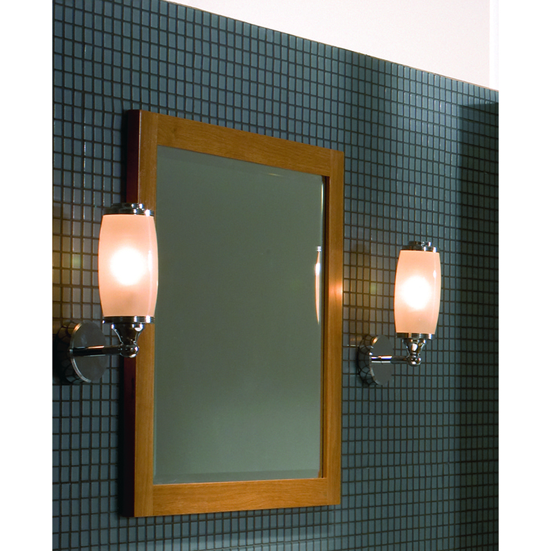 Toledo Single Wall Light and Glass Shade