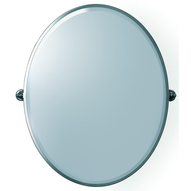 Jules Framed Mirror Chrome