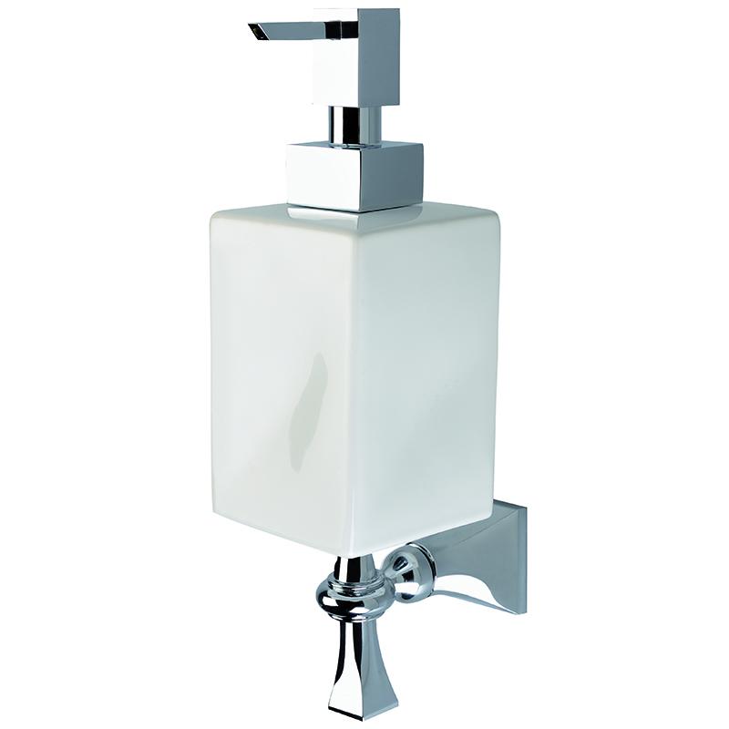 Highgate Wall Mounted Soap Dispenser White/Chrome