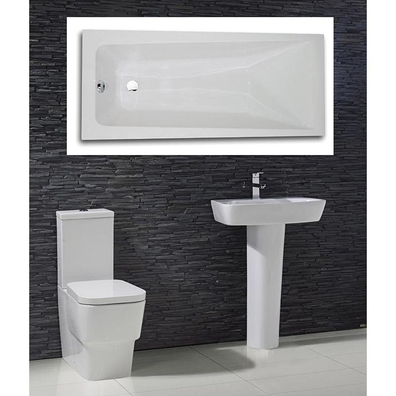Cubix complete Bathroom Suite