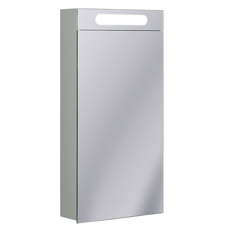 400 led aluminium cabinet electric buy online at bathroom city for Bathroom cabinet 600 x 400