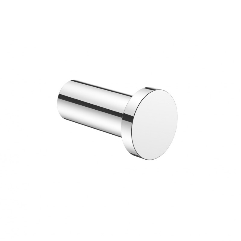 PRO Single Robe Hook Chrome