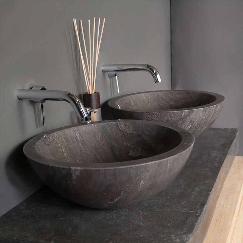 Forzalaqua Roma Natural Stone Basin Bluestone Buy Online