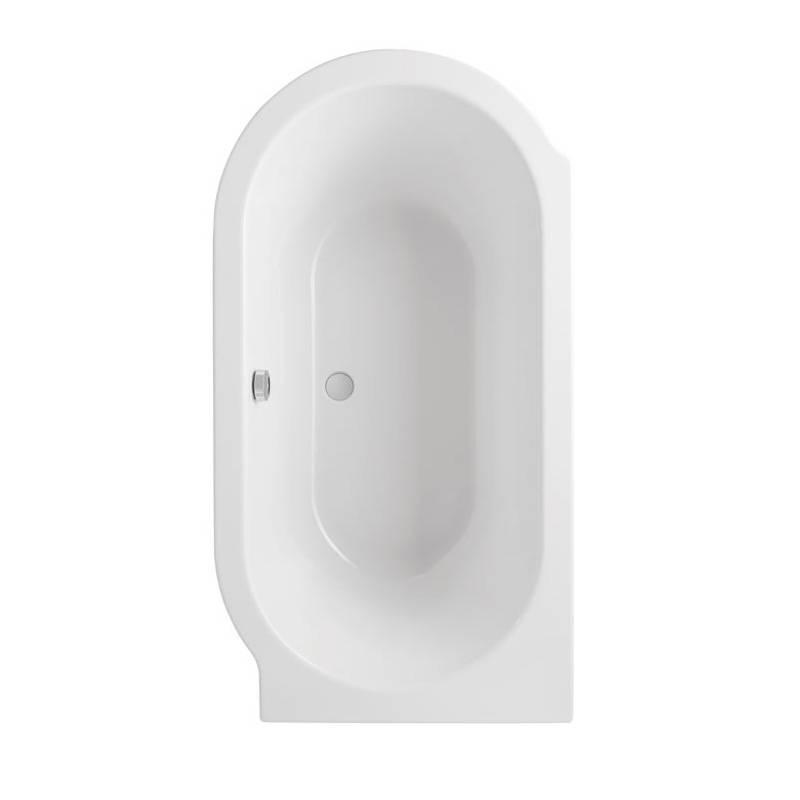 Advantage Deep Corner Bath & Panel LH
