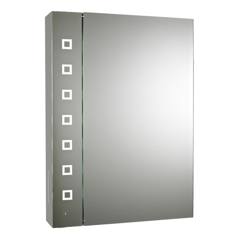 enigma sensor backlit mirrored cabinet 700 x 500 x 125mm