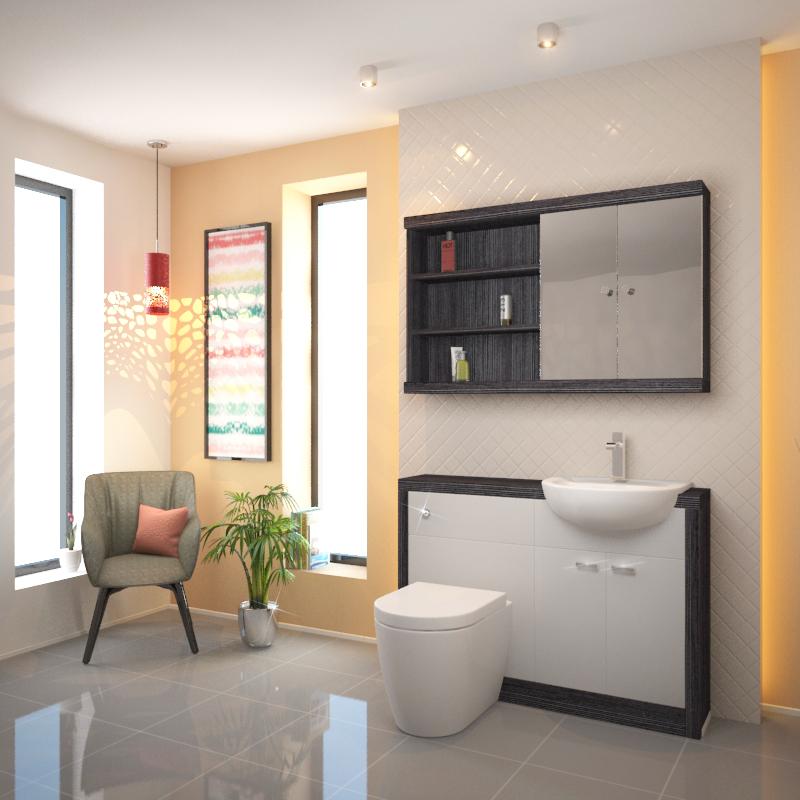 Large Vanity Units (800mm, 1000mm, 1200mm, 1500mm) At Bathroom City