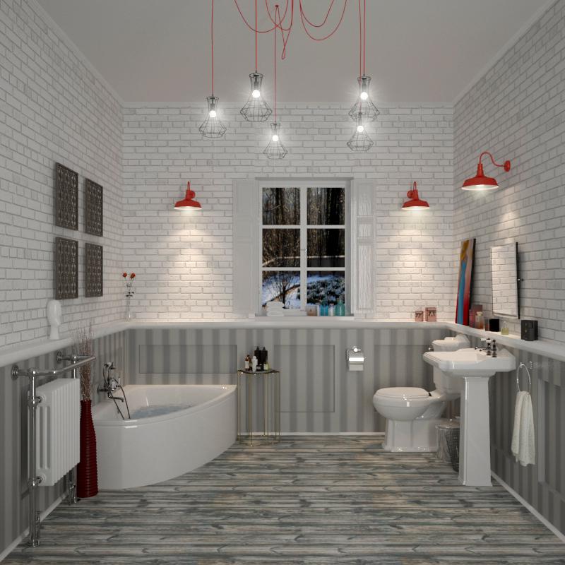 Clia legend Bathroom suite RH