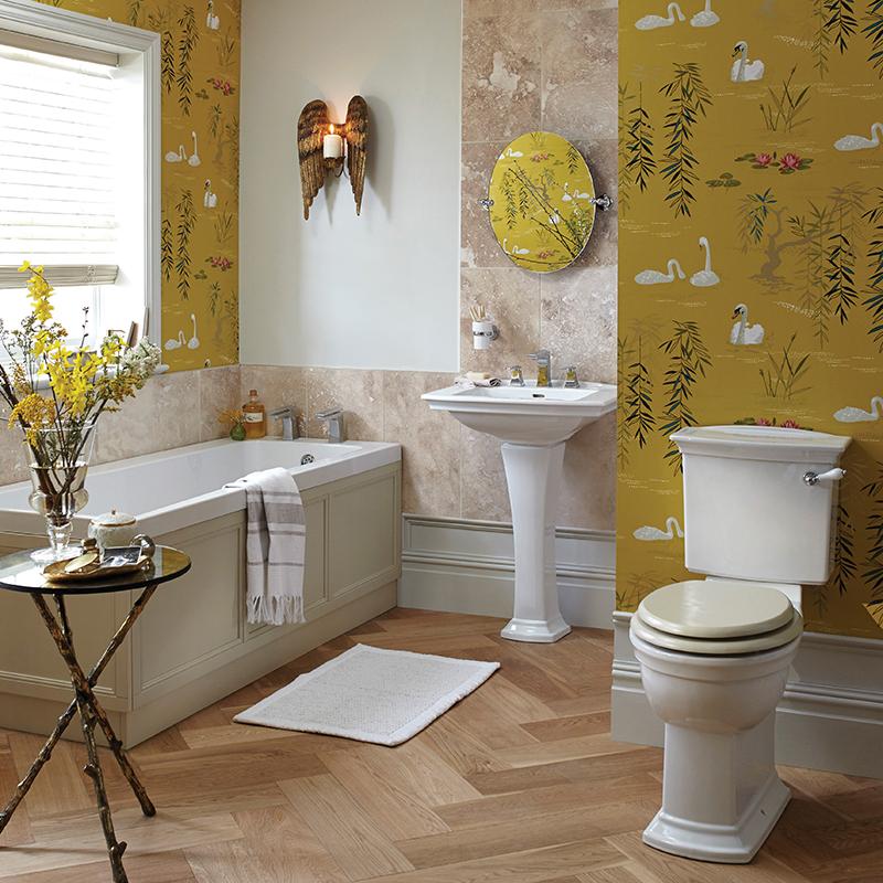 Heritage blenheim bathroom suite buy online at bathroom city for Buy bathroom suite uk