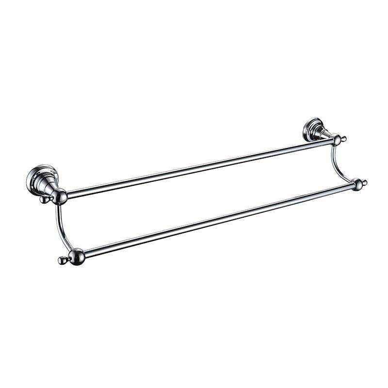 Holborn Double Towel Rail Chrome