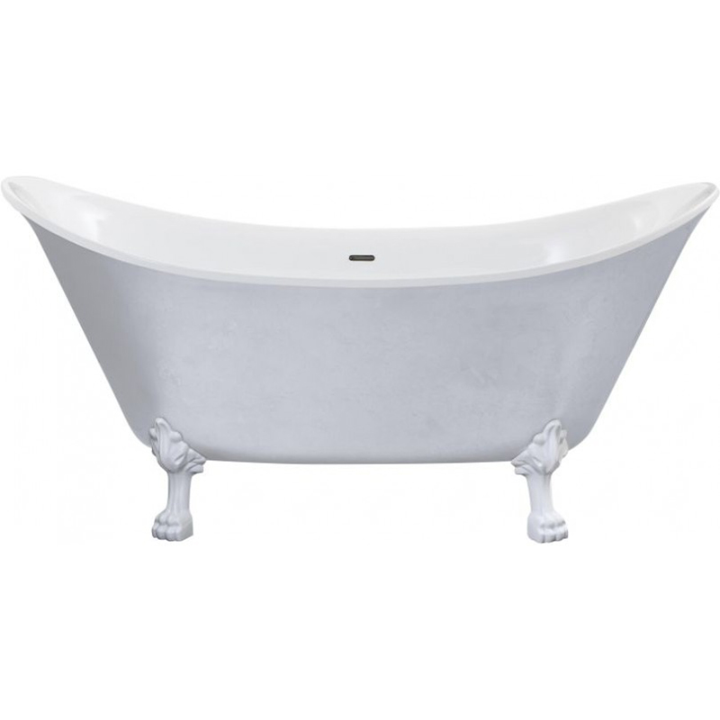 Lyddington Freestanding Acrylic Bath Stainless Steel