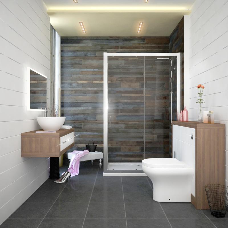 Complete Shower Suites at Bathroom City UK