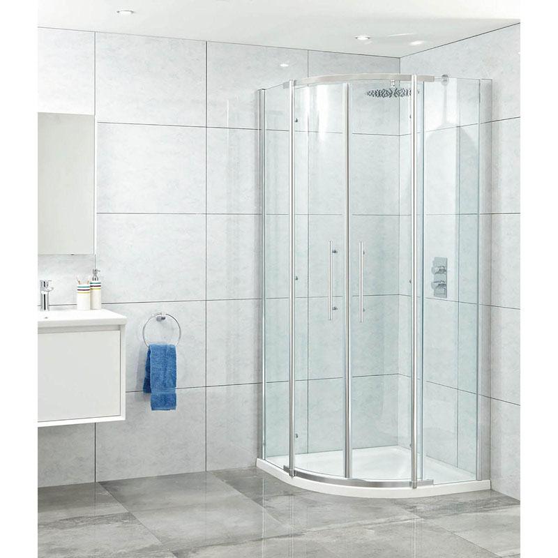 Elegance 8mm Quad Shower Cubicle Buy Online At Bathroom City
