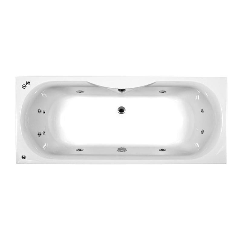 SICILY Bath Double Ended Amanzonite C/W System 1 (L170 x W70 x D43) 190 Litres