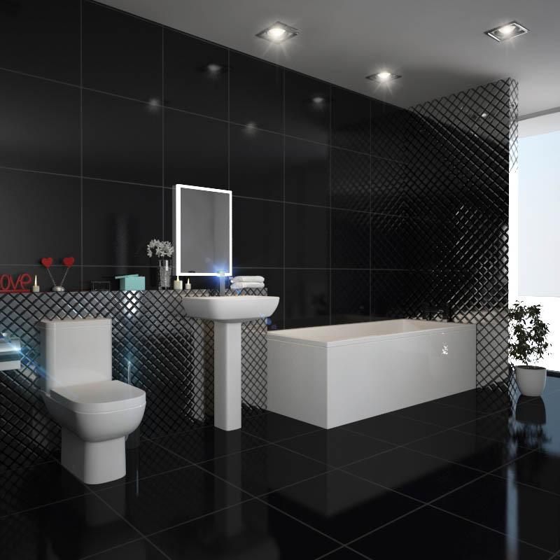 Laguna Square Design Bathroom Suite Buy Online At Bathroom
